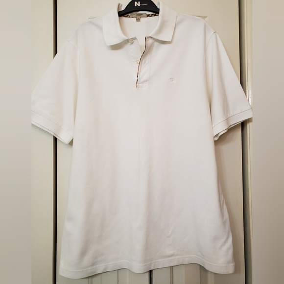Burberry Other - Burberry London Men's White Polo size L
